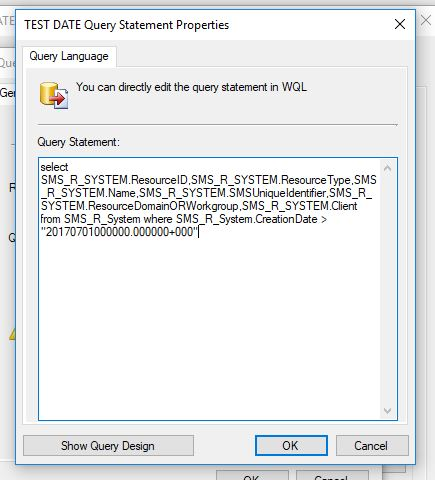 Configuration Manager collection based on Client Creation