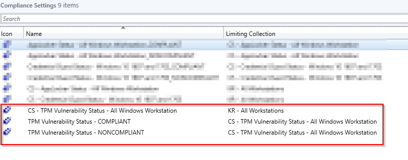 Detect vulnerability in TPM (ADV170012) using ConfigMgr