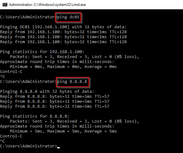 Provide Internet access to your private lab in Hyper-V using