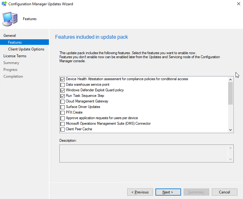 Upgrading Configuration Manager Current Branch to version 1802 (A