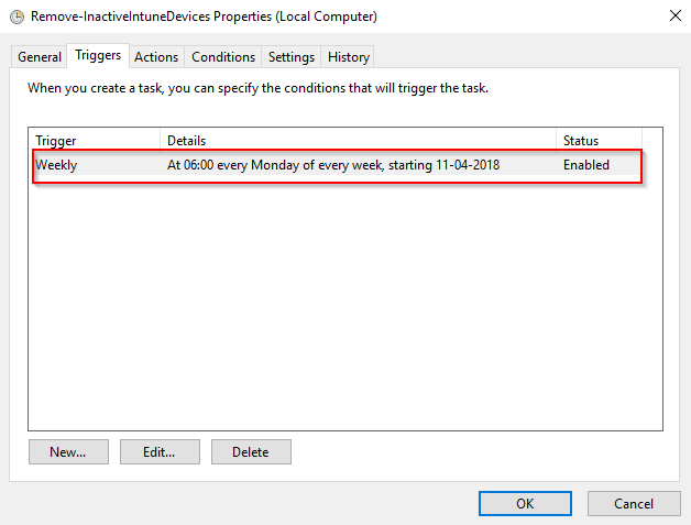 Remove inactive devices in Intune automatically using