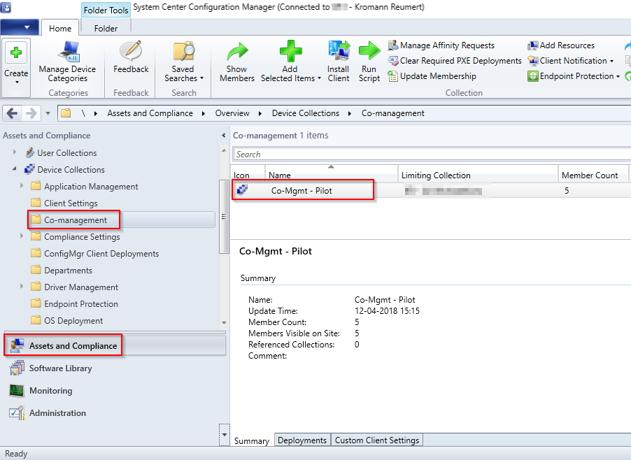 Flipping the switch: How to enable Co-management in SCCM Current