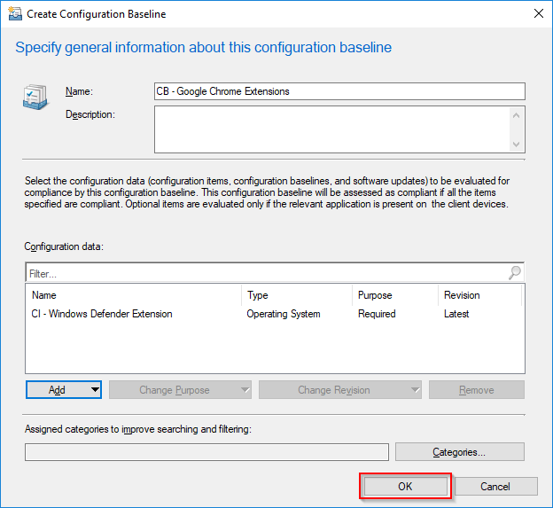 Deploy a forced installation of the Windows Defender Google