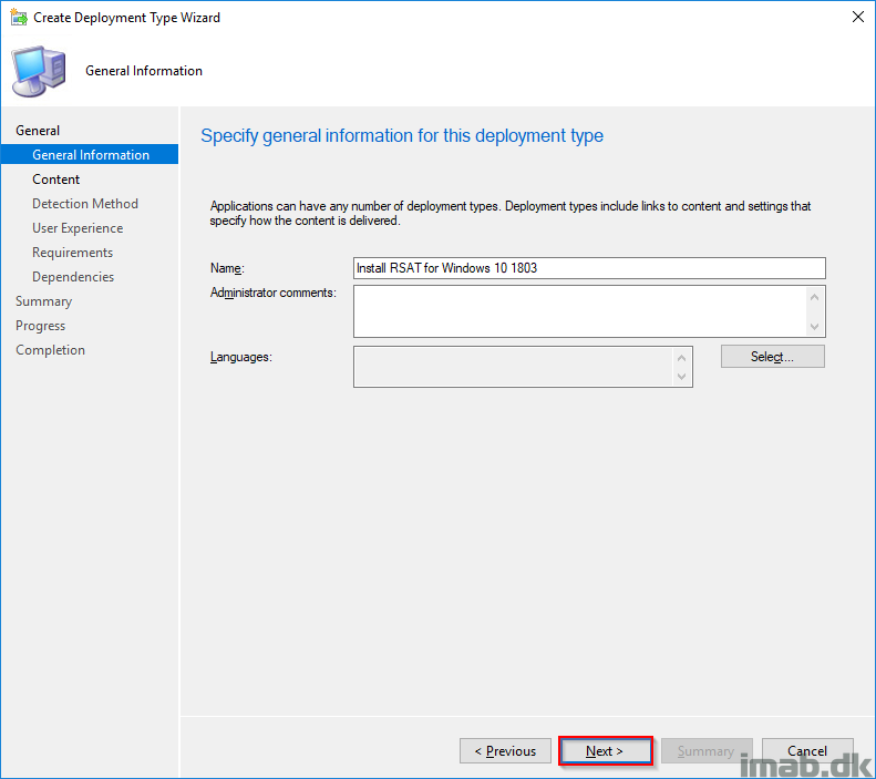 How can I deploy RSAT (Remote Server Administration Tools