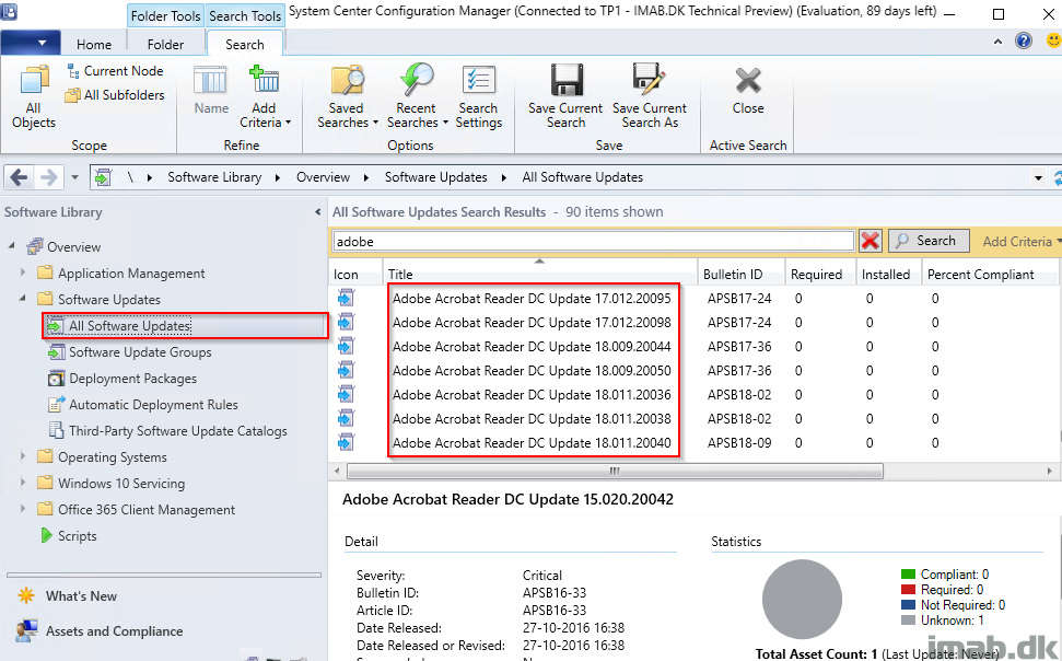 Adding Adobe Third-Party Software Update catalog in SCCM
