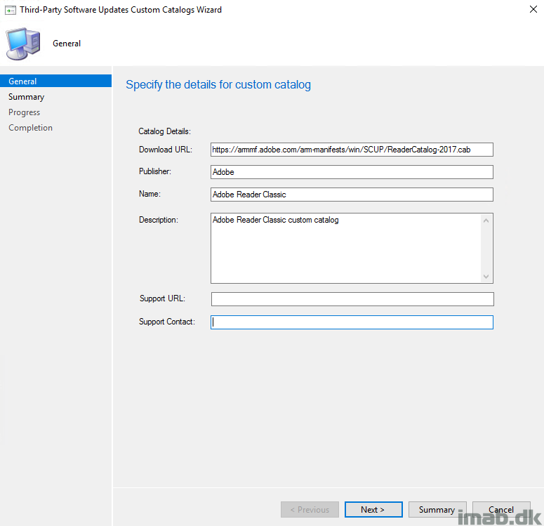 Adding Adobe Third-Party Software Update catalog in SCCM