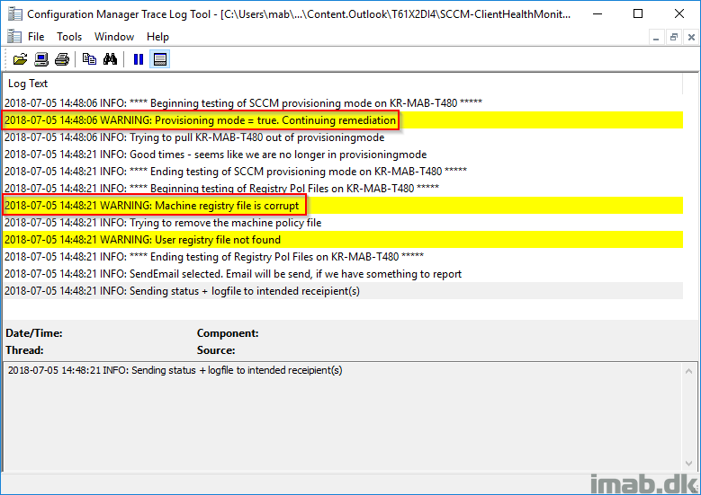 SCCM Client Health Monitor: Automatically remediate