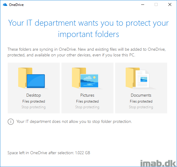 How to enable OneDrive Known Folder Move using SCCM (System Center
