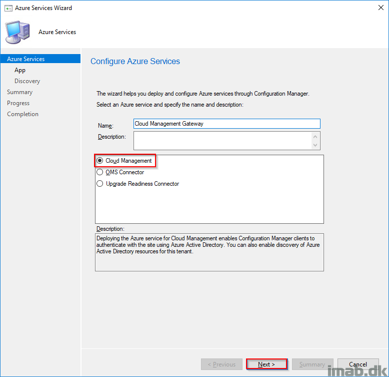 Setting up Cloud Management Gateway (CMG) in SCCM 1806 (HTTP