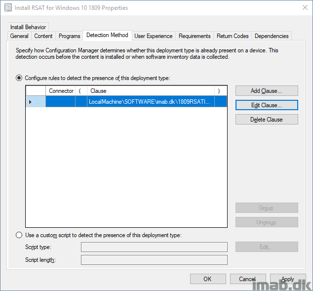 Deploy RSAT (Remote Server Administration Tools) for Windows