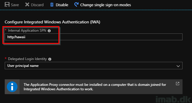 Azure AD Application Proxy, Single Sign-On and Conditional