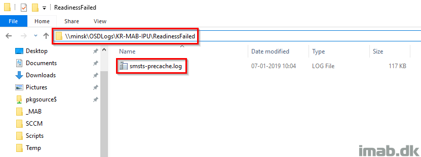 Windows as a Service: Sharing my PreCache and In-Place