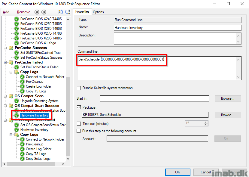 Windows as a Service: Sharing my PreCache and In-Place Upgrade Task