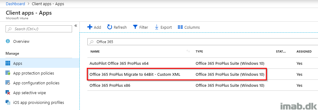 Migrate Office 365 ProPlus from 32-bit to 64-bit using